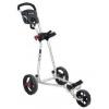 Chariot de golf manuel 3 roues forme en L LEGEND COMP 5000