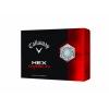Callaway Hex Diablo Pack de balles de golf Blanc 4,2 cm