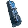 Longridge Deluxe Padded Travel Cover Housse de voyage roulante golf Bleu marine
