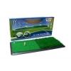 PGA – Tour academy – Pitch d'entrainement – 2en1 gazon de golf pratique – Vert