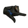 Gant de golf Grip-Par pour entrainement recommandé par les professionnels de la PGA – Approuvé par le R&A – Taille moyenne – Main gauche – Cuir synthétique – Garniture noire/bleue