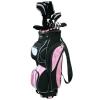 Masters MC-Z150 Hybride en fibre de carbone + sac 22,8 cm Femme Pour droitier Noir/Rose