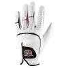 Wilson Staff Grip Plus Mlh – Gant de golf Femme – Blanc- Main droite – Taille large