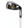 Benross Gold Iron A Flex/SNR 24 – Club de golf homme – Noir/argent/or – Fibre de carbone – Droitier