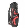 GolfGear 14 voies diviseur 9 «Couleur sac de chariot de golf Noir / Rouge