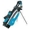 Masters MC-Z150 Hybride en fibre de carbone + sac 22,8 cm Homme Pour gaucher Noir/Bleu
