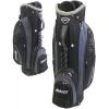 Bullet golf 9 pouces panier / chariot sac avec diviseur 14 voies (noir / gris) Reviews