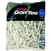Pride 83mm – Tees de golf en bois (lot de 400) – Blanc