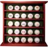 Longridge Présentoir en bois (peut contenir 25 balles de golf) Marron