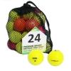 Second Chance Optic 24 Balles de golf de récupération colorées Qualité supérieure Grade A