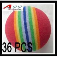 36pcs EVA balles de golf d'entraînement en mousse