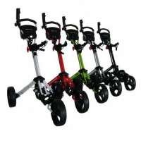 Trolem – Déstockage Chariots – Chariot manuel Trolem One Lock rouge