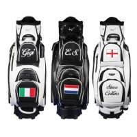 Kellermann Golf – Sac Chariot Madeira 9,5″ personnalisé avec «nom/drapeau national» – en 3 couleurs