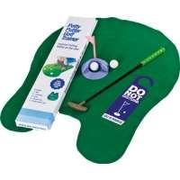 Longridge Potty Puttergolf Trainer – Set de golf pour WC – Vert
