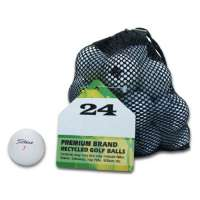 Second Chance Premium Titleist – 24 balles de golf recyclées de catégorie A