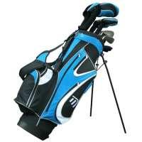 Masters MC-Z350 Hybride en graphite + sac 22,8 cm Homme Pour droitier Noir/Bleu-TR-C-j-C